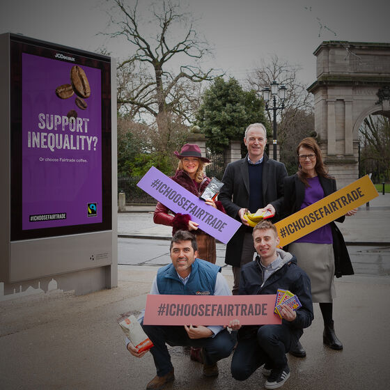 Fairtrade + JCDecaux launch Cannes Young Lions winners' campaign