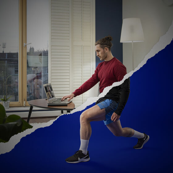 Thinkhouse's campaign for Life Style Sports - 'WORK'in FROM HOME'