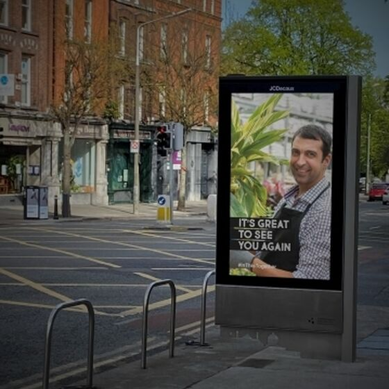 JCDecaux reconnects with people
