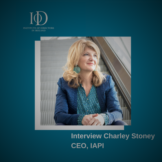 Charley Stoney Interview with IoD