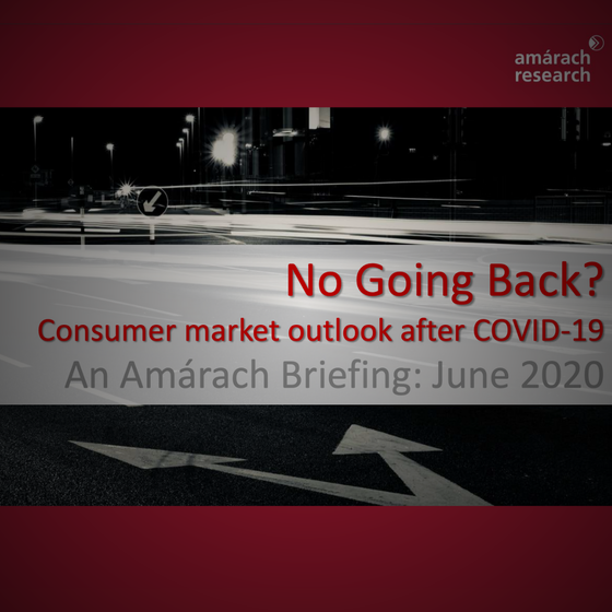 Amárach Research: Consumer markets after Covid-19
