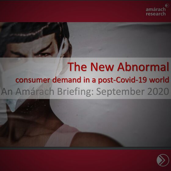 The New Abnormal – An Amárach Briefing
