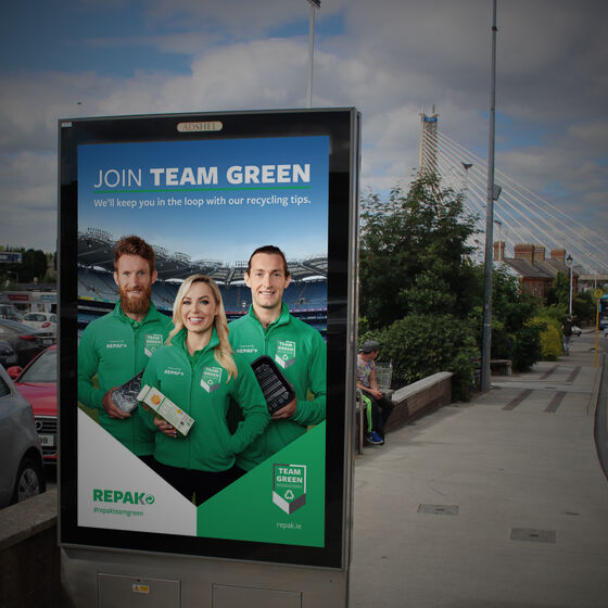 Marketing Network are Behind Team Green