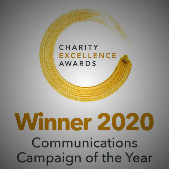 #ComeIn Campaign Wins at Charity Excellence Awards