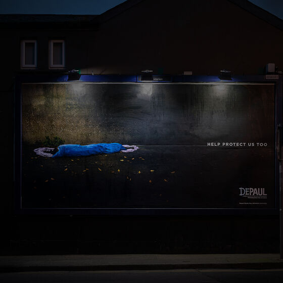 Publicis Dublin release hard-hitting campaign for Depaul Ireland