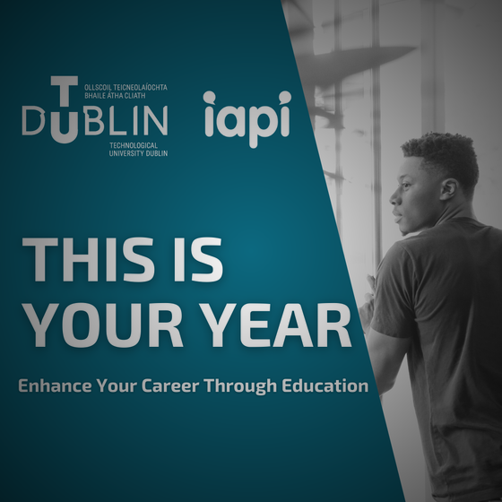 TUD & IAPI Accredited Programme for the Commercial Creativity Sector