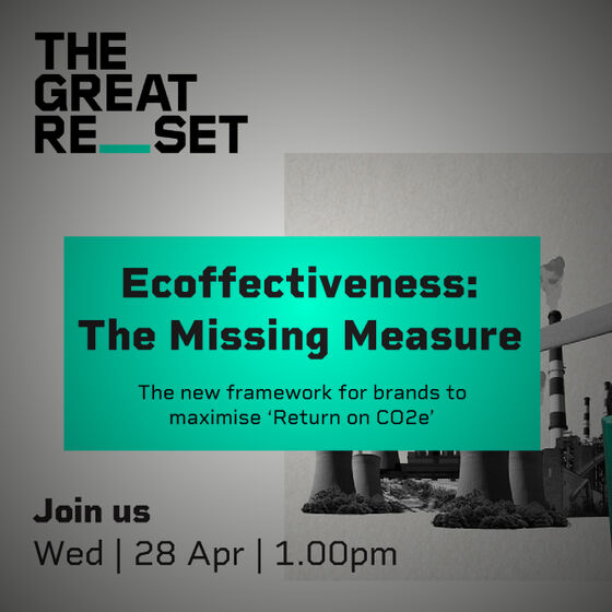 Purpose Disruptors launch The Great Reset Fortnight with Ecoffectiveness Methodology