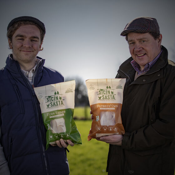 Sicín Sásta launch integrated cross agency campaign for exciting new Irish chicken brand from Carton Bros.