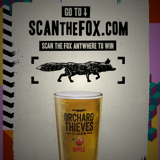 Orchard Thieves Cider launches Scan The Fox across Ireland
