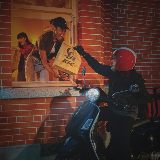 Core Creative develop new KFC campaign focusing on home delivery