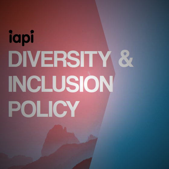 IAPI Launches Diversity and Inclusion Policy for the Industry